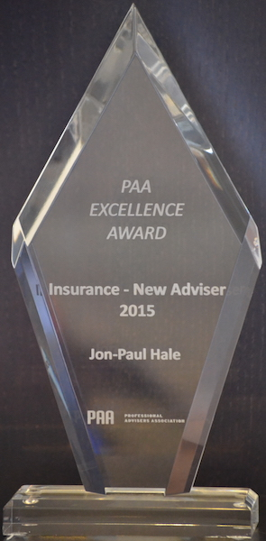 New Insurance Adviser of the Year 2015